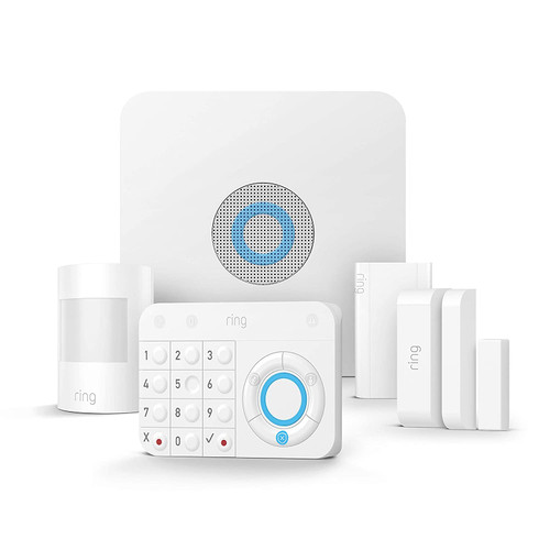 Ring Alarm 5-Piece Kit – Home Security System with optional Assisted Monitoring
