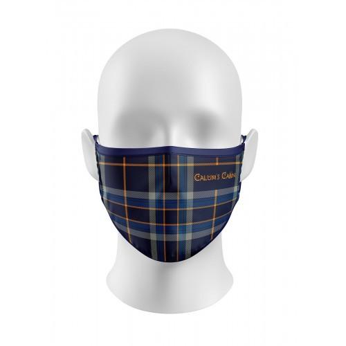 Calums Cabin Tartan Face Mask