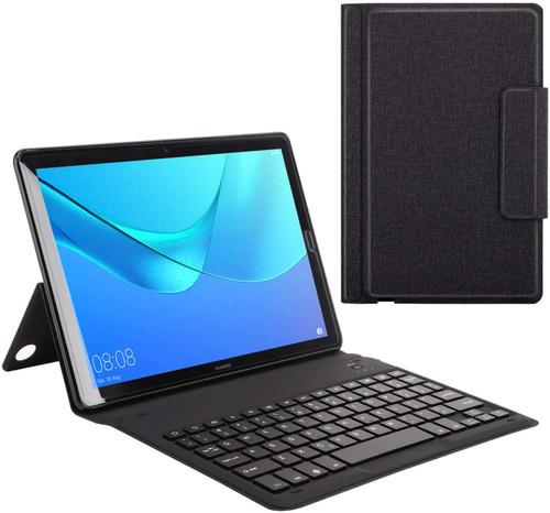 MoKo Keyboard Case Fit Huawei MediaPad M5 10.8 Inch Tablet, Wireless Bluetooth Keyboard Cover Case
