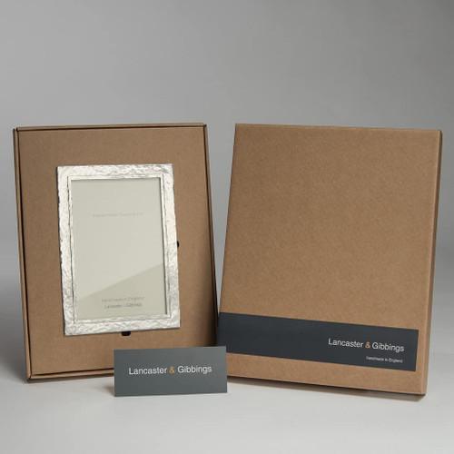 Lancaster and Gibbings Thurlestone Handmade Pewter Photo Frame