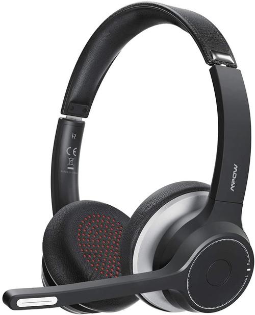 Mpow HC5 V5.0 Bluetooth Headset with Dual Mic