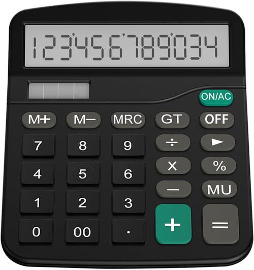 Helect Standard Function Desktop Calculator (Black)