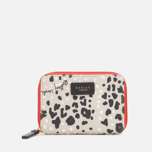 Radley Leopard Zip Purse
