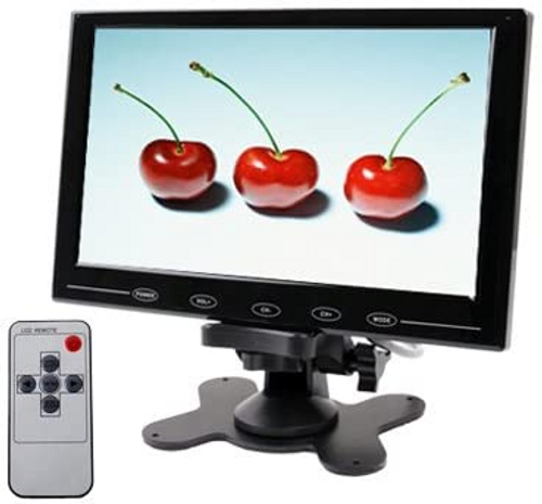 Ultra-thin Touch Button Car Monitor with Remote Controller