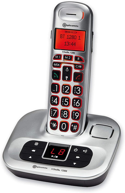 Amplicomms BigTel 1280 Amplified Cordless Telephone