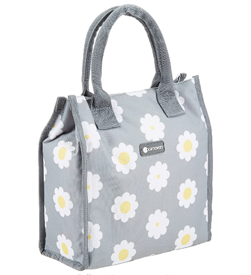 KitchenCraft Thermal Tote Cool Bag with Decorative Retro Flower Print