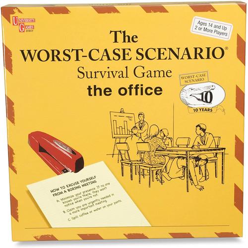 University Games Worst Case Scenario Office Edition