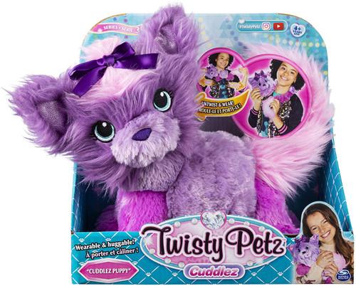 Twisty Petz Cuddlez Soft Toy Puppy
