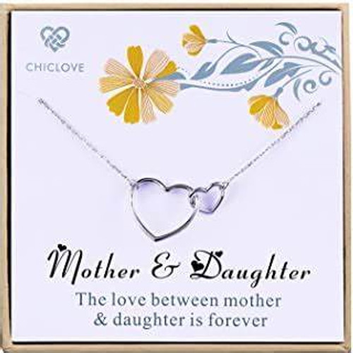 CHICLOVE Mother & Daughter Necklace
