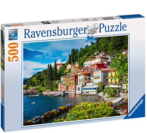 Ravensburger Lake Como, Italy 500 Piece Jigsaw Puzzle
