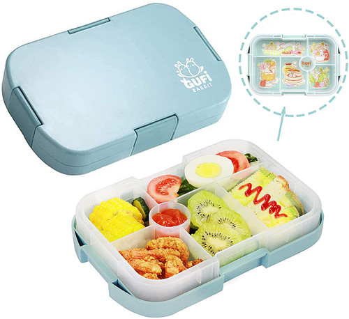 Kids Lunch Box, 6 Compartments