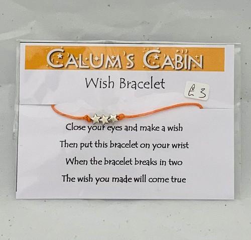 Calums Cabin Wish Bracelet