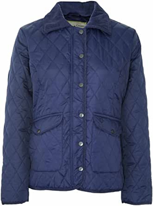 Country Estate  Women's Quilted Jacket-Navy