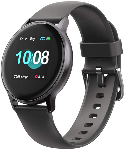 UMIDIGI Smart Watch for Men, Uwatch 2S Smartwatch Fitness Trackers with Heart Rate Monitor, Waterproof Activity Tracker Pedometer Watch Step Counter Sleep Monitor Mens Smart Watches for Android Iphone