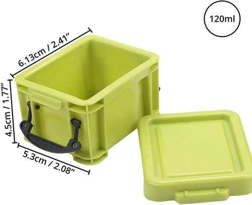 Kurtzy, Useful Plastic Storage Organiser Box - 9 x 0.22 Litre