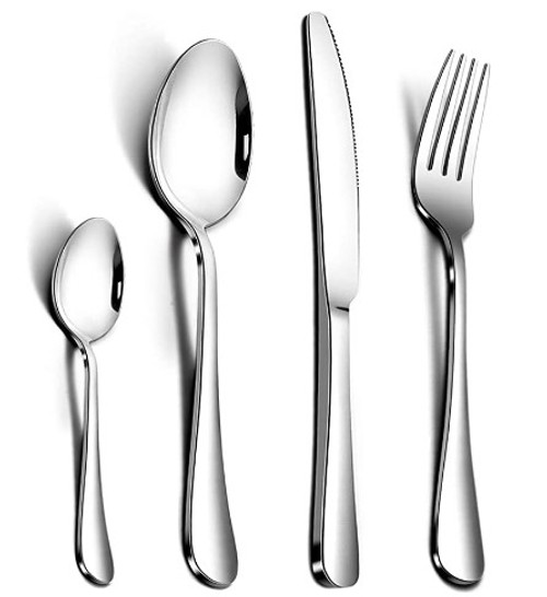 AckMond 24-Piece, Cutlery, Service for 6