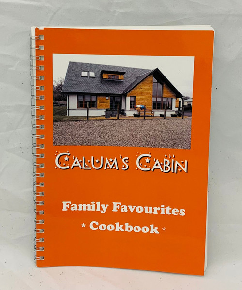 Calums Cabin Family Favourites Cookbook