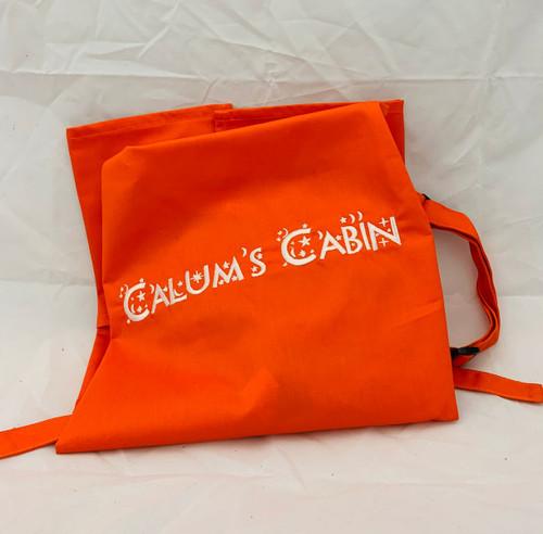 Calums Cabin Orange Apron