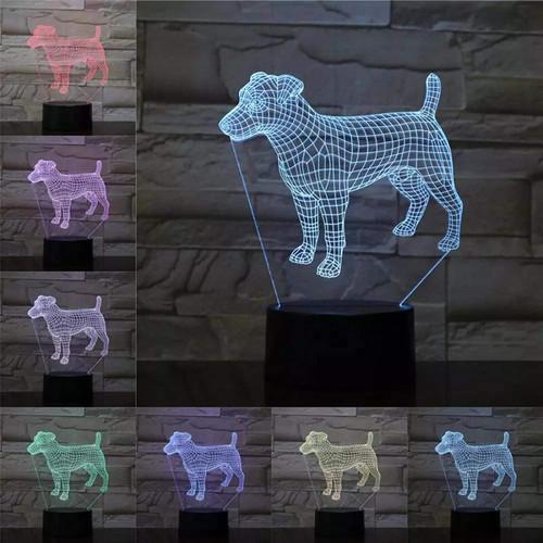 Animal Dog 3D Night Light