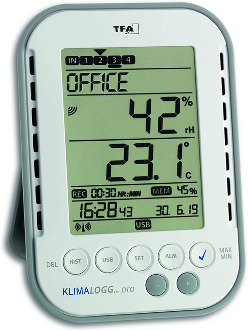 KlimaLogg Pro Professional Thermo-Hygrometer With Data Logger