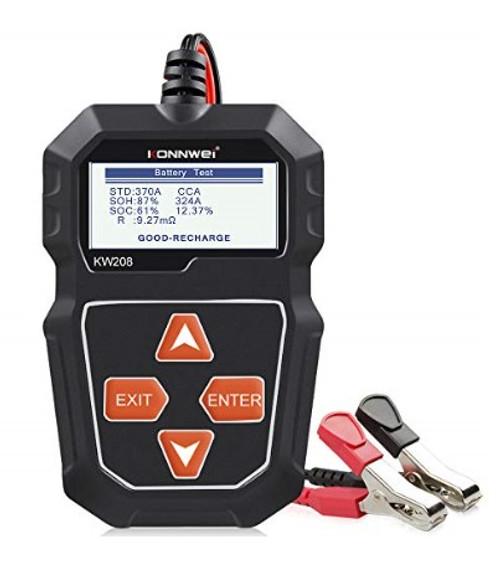 KONNWEI KW208 12V Car Battery Tester Diagnostic Tool