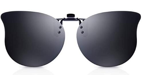Goiteia Polarized Women Clip on Sunglasses