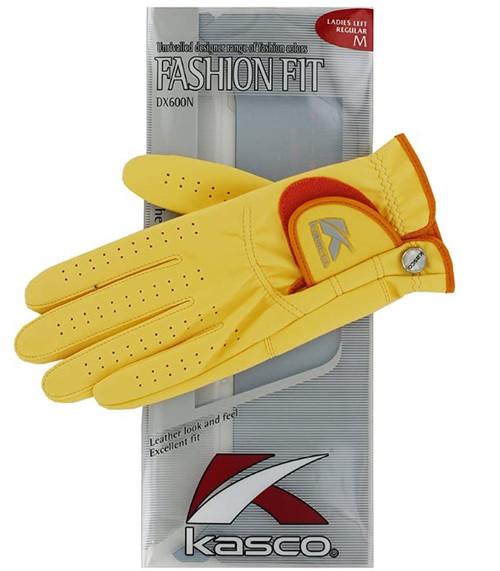 Kasco Women's Fashion Fit Golf Gloves , Size XL, Colour Tan.