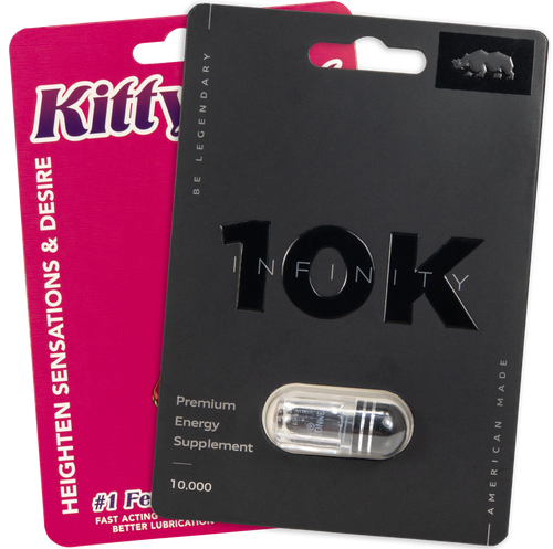 Kitty Kat PIll and Rhino Infinity 10K