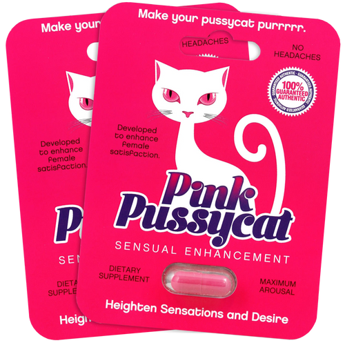 Pink Pussycat 2 pack