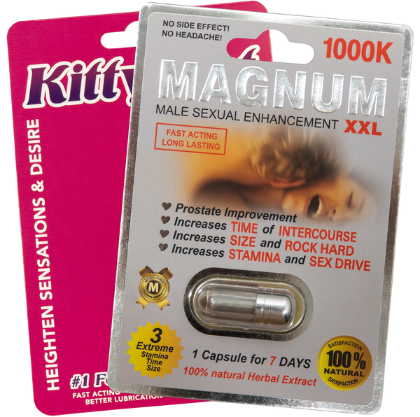 Kitty Kat Pill and Magnum 1000K