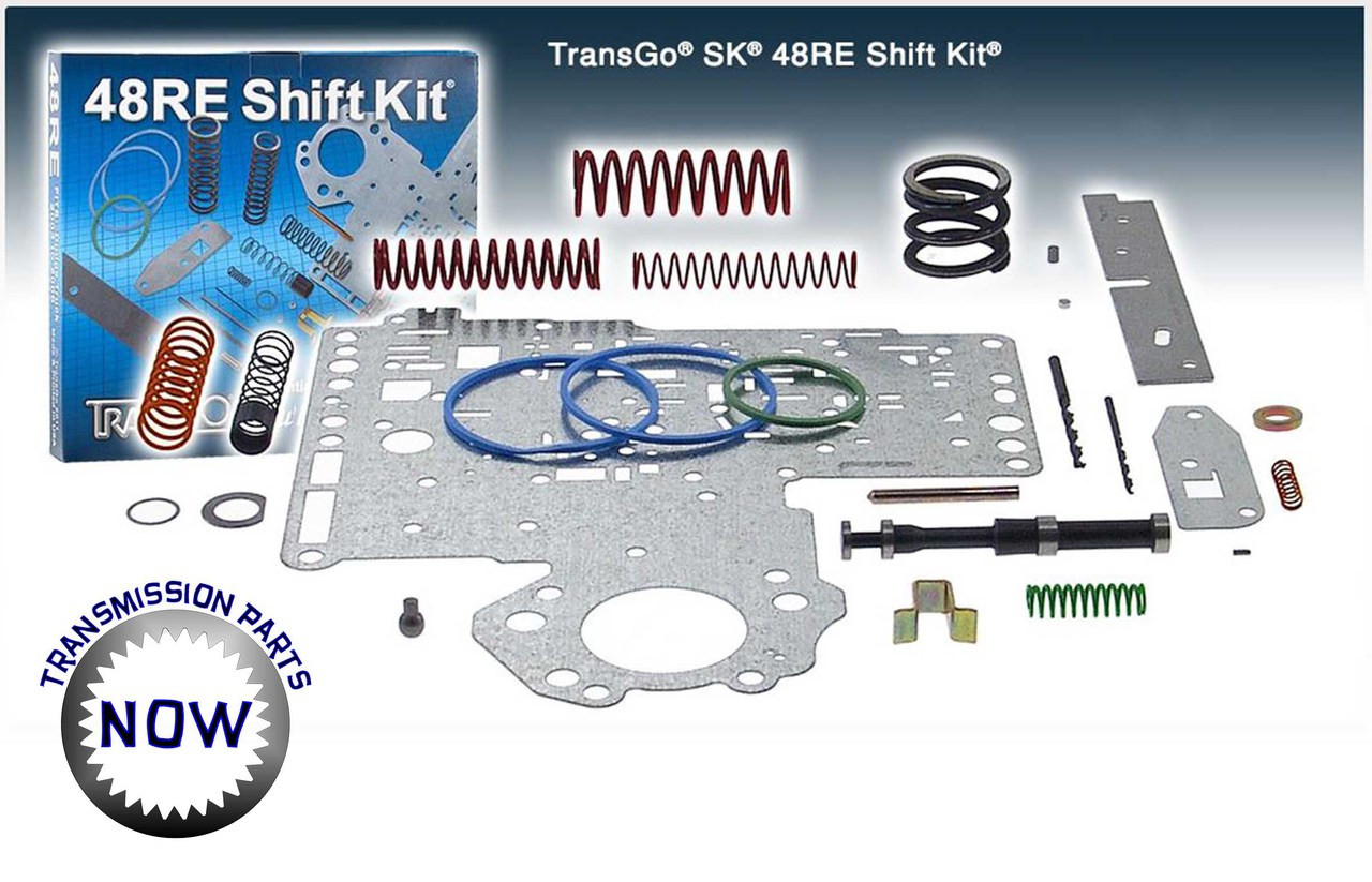 Transgo shift kit for Dodge 48RE transmission buy at Transpartsnow.com