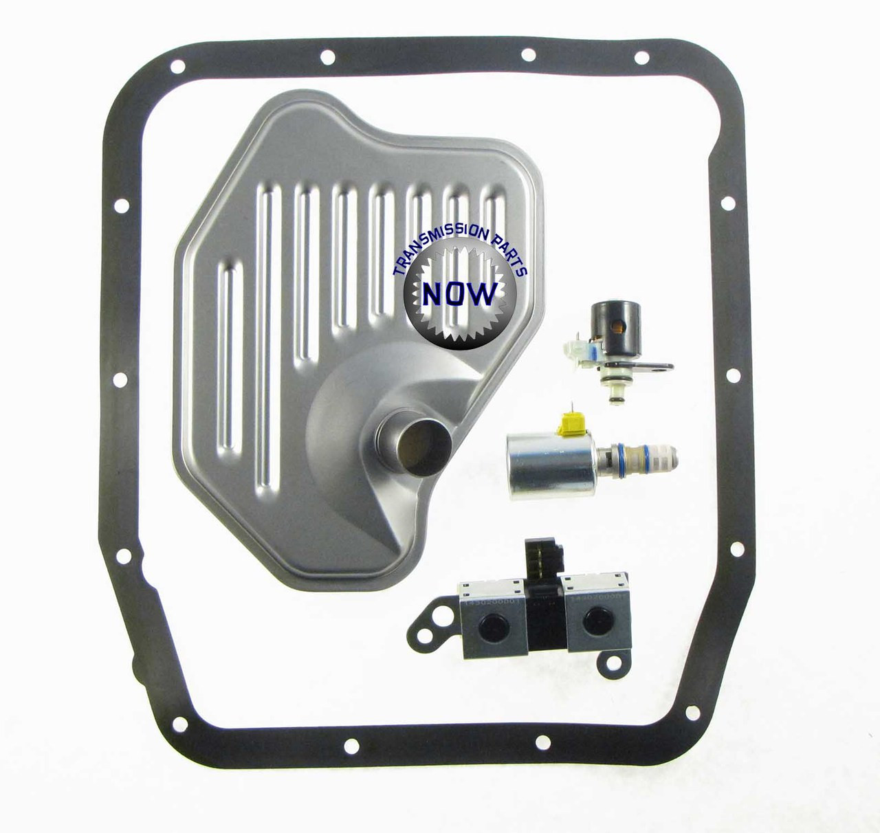 AODE 4R70 shift solenoid, TCC solenoid, Lock-up Solenoid, EPC solenoid, Pressure control solenoid, Filter kit