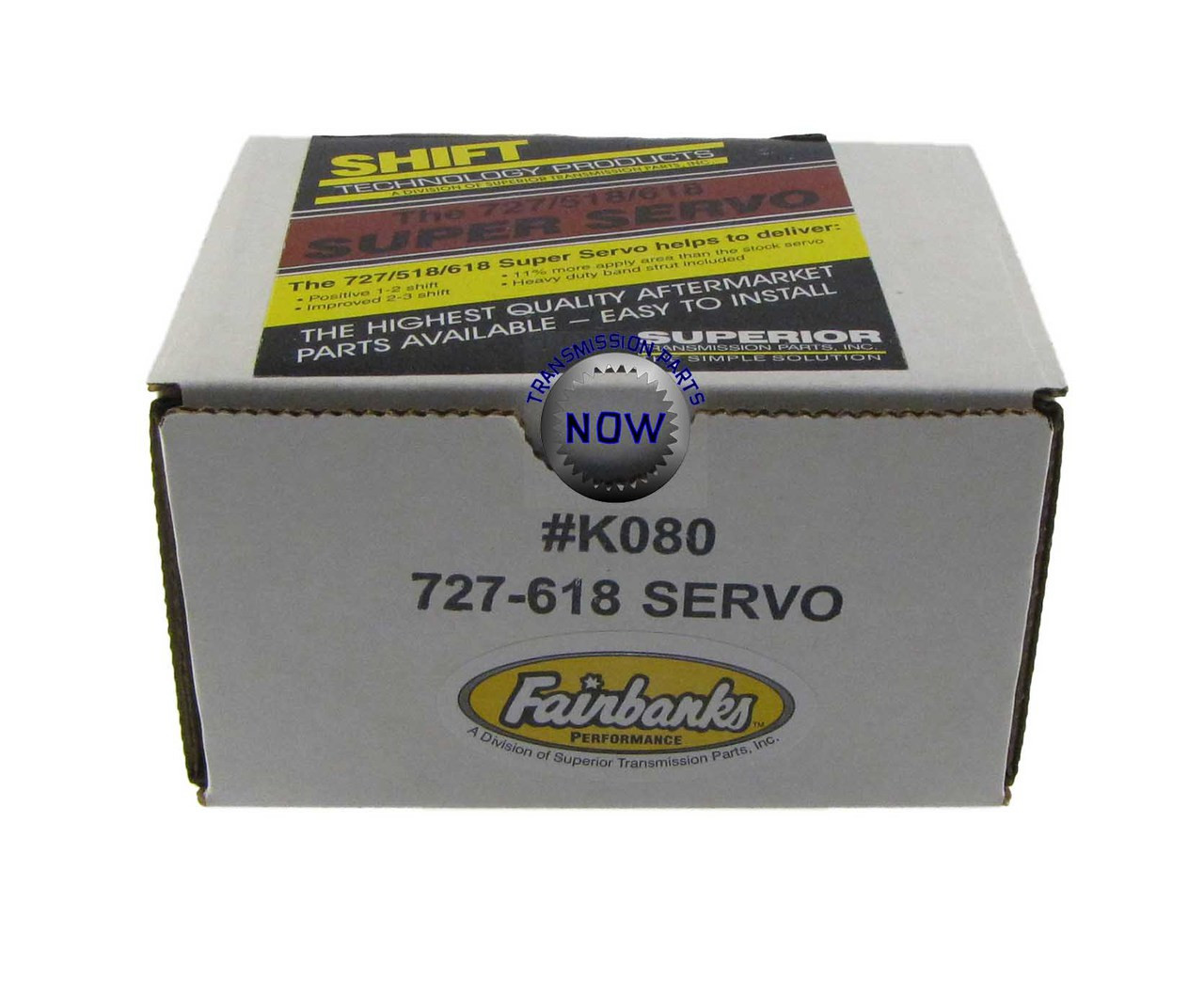 Superior / Fairbanks Super Servo K080 / 727 / A518 / A618 / 46RE / 47RE / 48RE For increase holding power. Firms shifts, Towing, Hot Rods, Upgrade.