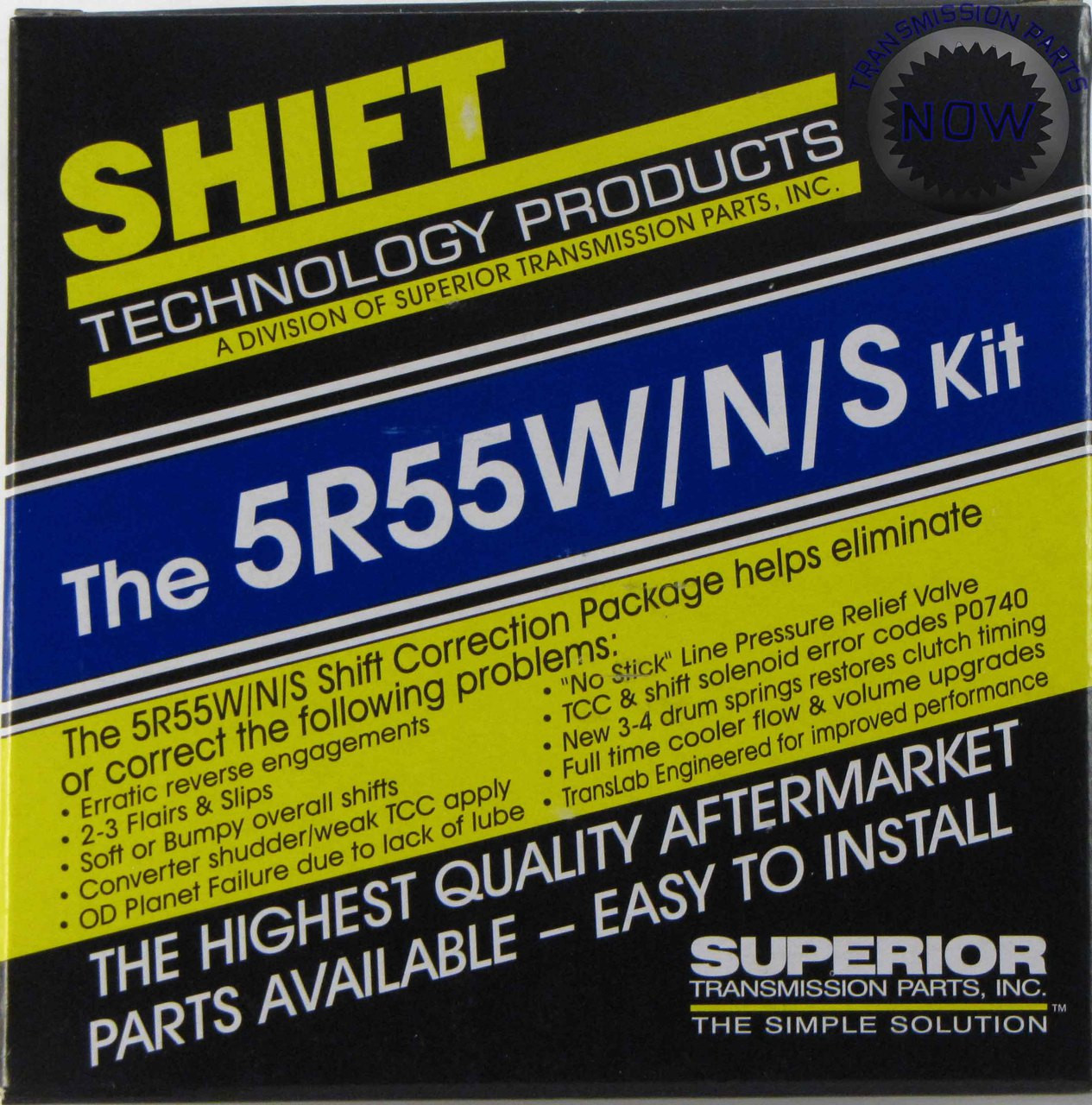 S46165 FORD 5R55S 5R55N 5R55W Superior Shift Correction Kit