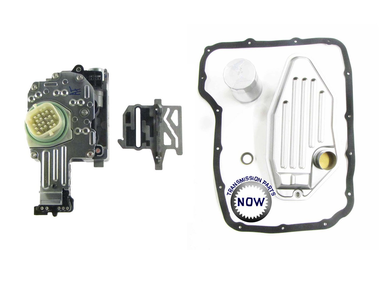 45RFE / 545RFE / 68RFE OE solenoid and filter kit. Comes with updated TRS plate. Fits all years.