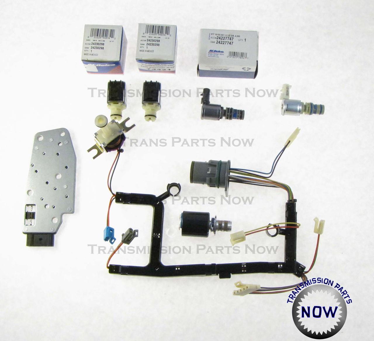 4T65E New OEM Spec Solenoid Master Kit Shift TCC EPC Pressure Manifold 2003-On