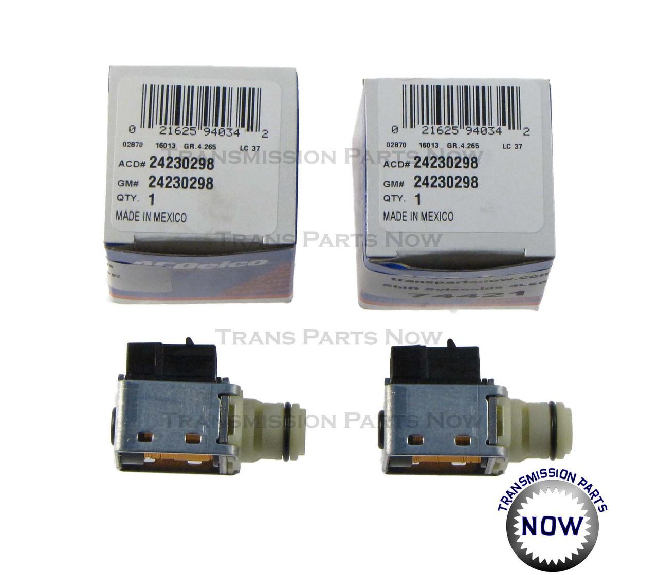 Ac Delco Shift Solenoid Kit 4l60e 4l65e 4l70e Gm Solenoids Transmission Parts