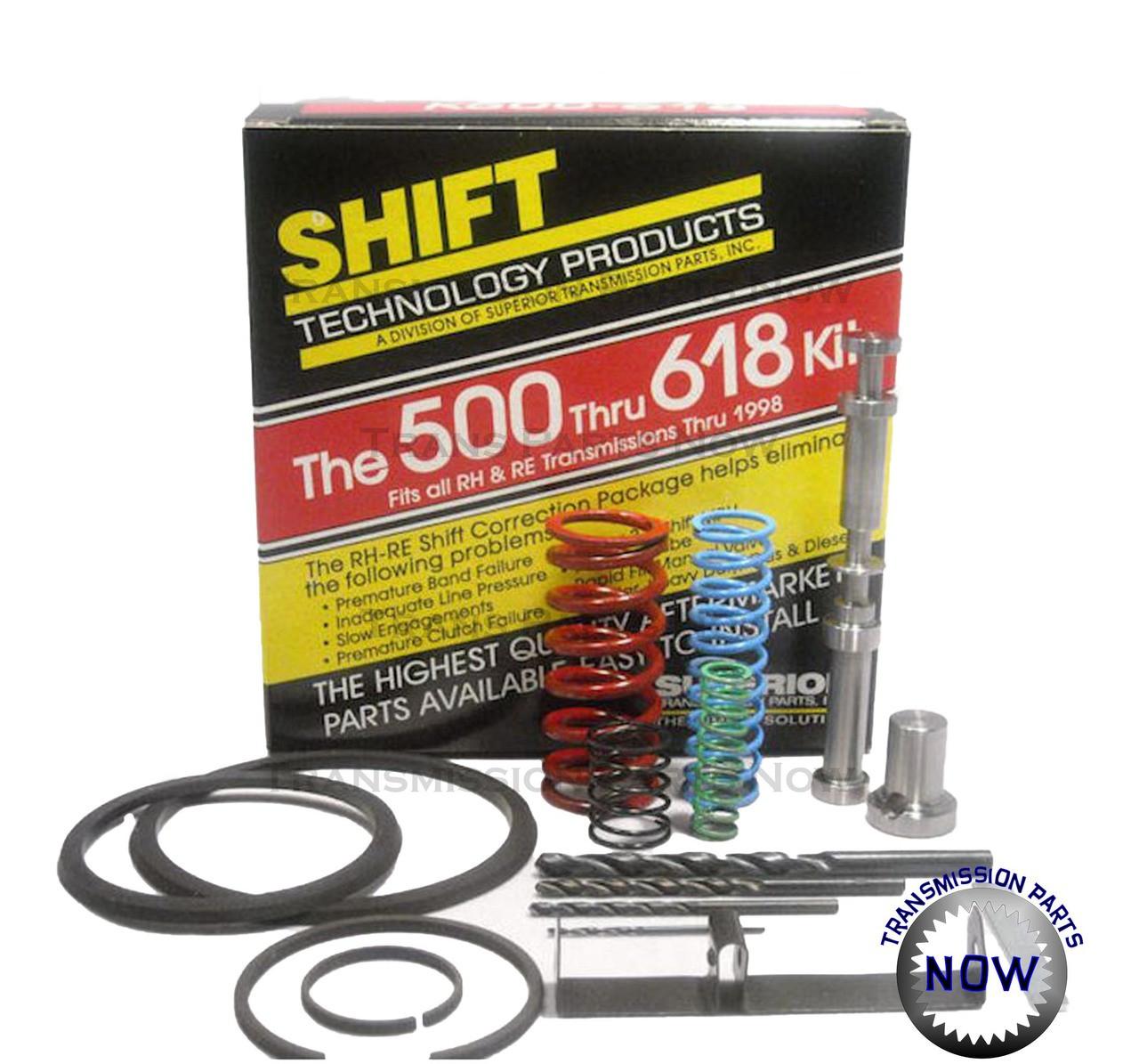 K500-618, Superior Shift correction kit, Shift kit, A500,A518, A618, 42Re, 42RH, 44RE, 44RH, 46RE, 46RH, 47RE, transmission parts, 22167S, S22167