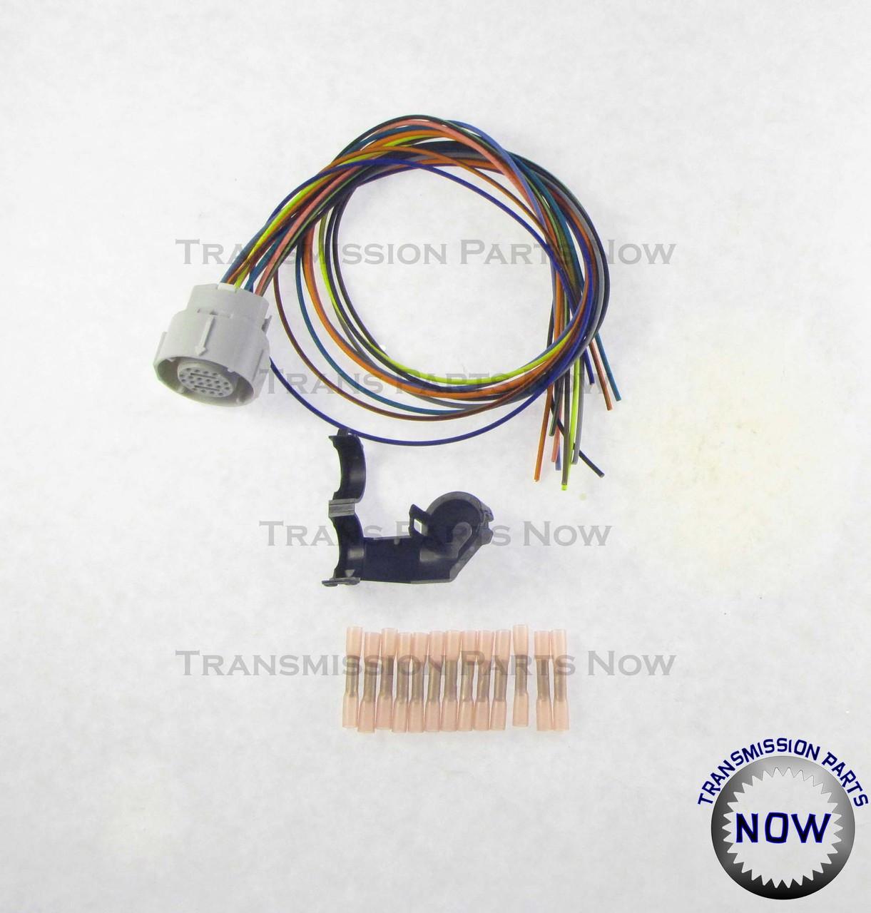 4l80e external wiring harness update kit, 34445ek  transmission parts now