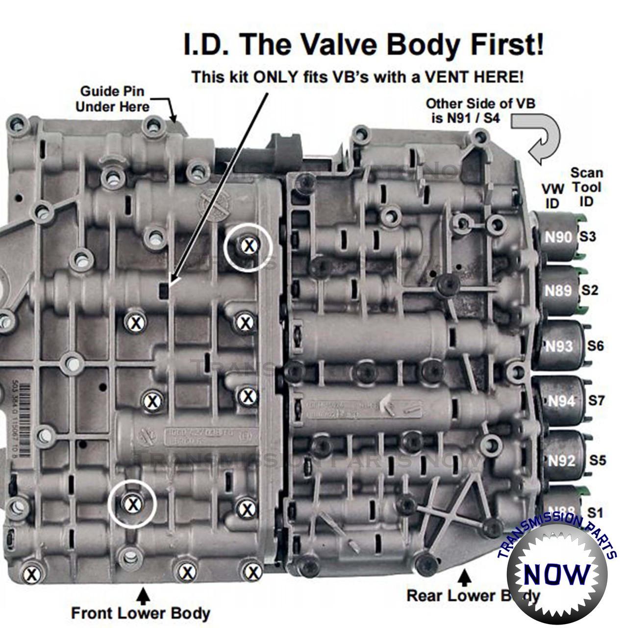 ZF5-19-PR, ZF5HP19, Transgo, Pressure regulator valve