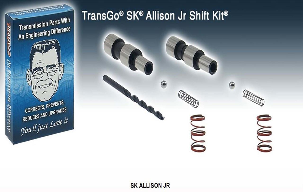 Transgo shift kits, SK Allison JR, Allison 6 speeds, Allison upgrades, T121167, 121167T