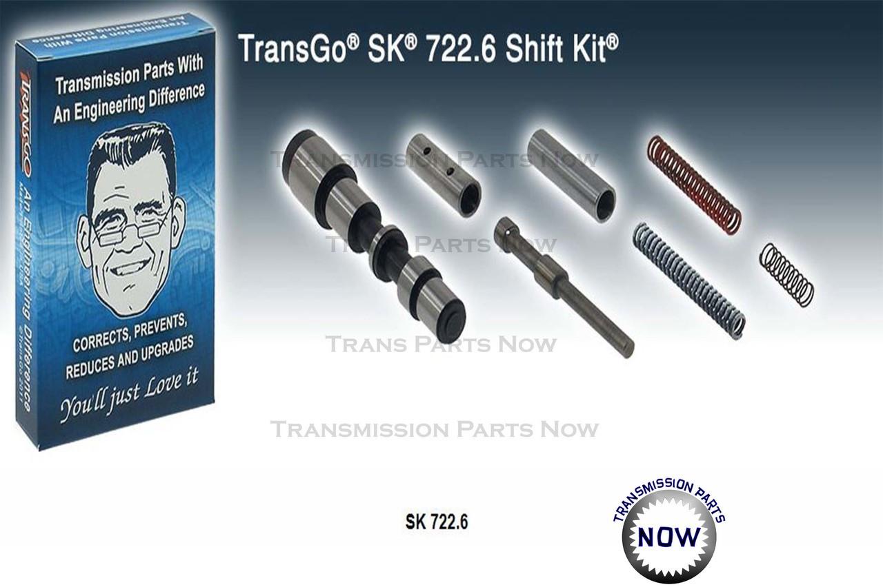 781658T, T78165, Transgo Shift kit, Nag 1, 722.6 Lockup shudder