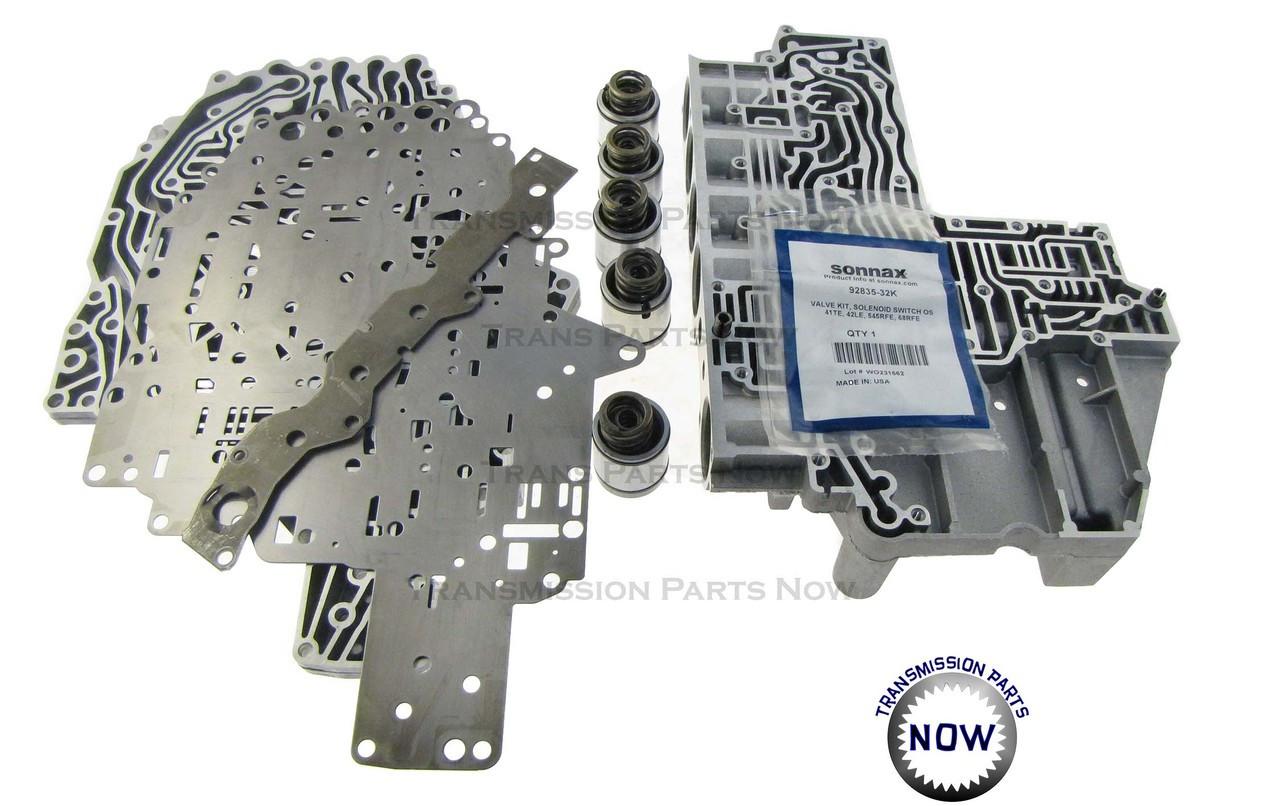 545RFE Valve Body, Solenoid, Sonnax, Dodge, Transmission parts, Best Transmission Parts, Filter Kit
