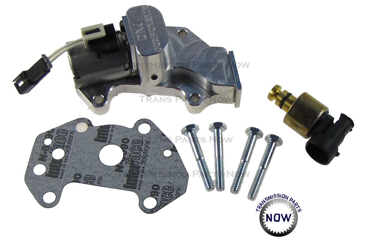 GM governor solenoid upgrade, 42re, 44re, 46re, 47re, dodge transmissions, DNJ Components, Towing, HD, Billet