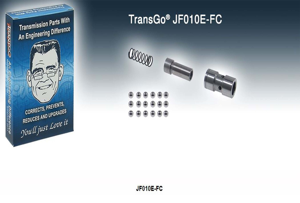 Transgo, Flow control valve, JF010E, RE0F09A, Altima, Maxima, Murano, Quest, Jatco CVT, CVT
