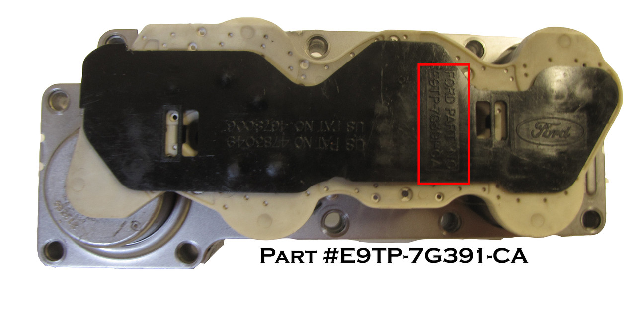 Ford E4OD solenoid part number ID, buy at transpartsnow.com.  E9TP-7G391-CA, R36420