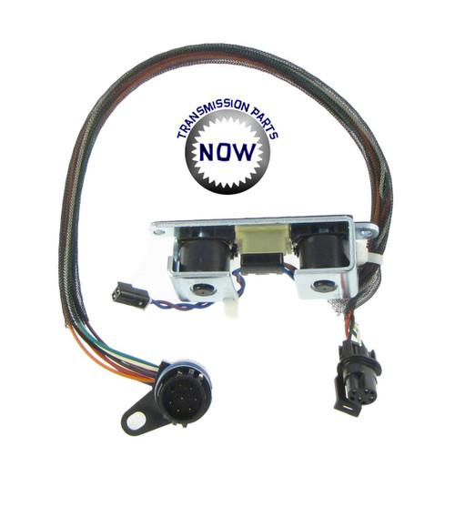 This is a 3-4 shift and Lock-up (TCC) solenoid. It has an oval connector for the governor pressure sensor. The case connector and wire harness is part of the solenoid. OE # 52118652, 12420B, 12874B.