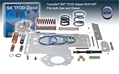 SK TFOD-Diesel Dodge shift kit 46RE 47RE transmission. At transpartsnow.com 22165BT