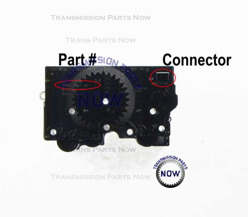 Ford Thunderbird 2002 5R55N, Lincoln LS 2000 - 2002 5R55N transmission solenoid pack / block, pressure control solenoid, shift solenoid. 46420 / R46420 /  xw4p-7g391-AE / xw4p-7g391-AB