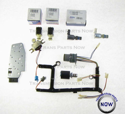 4L60E Solenoids, EPC, TCC, 3-2, Internal wiring harness, Pressure switch manifold, GM transmission Parts, Transmission parts, Transmission Solenoids